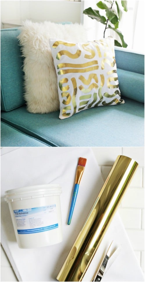 30 easy diy accent pillows that you can