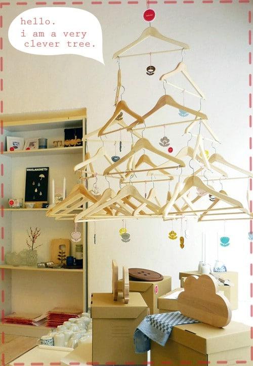Decorative Coat Hanger Tree