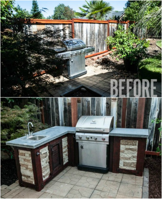 Kitchen Backyard Design Backyard Pool And Kitchen Designs