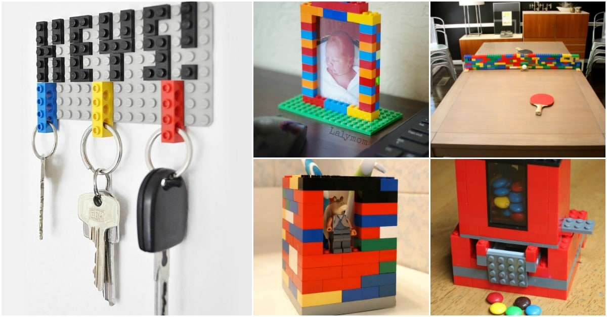 17 Totally Cool Diy Lego Crafts That Are Fun To Make And