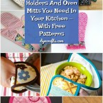 20 Easy Diy Pot Holders And Oven Mitts You Need In Your Kitchen With Free Patterns Diy Crafts