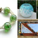 15 Ways To Turn Glass Marbles Into Home Decor And More Diy Crafts