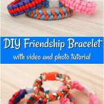 Square Knot Friendship Bracelet Tutorial Diy Crafts