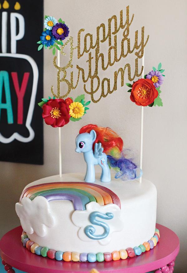 Decorating Ideas For Girls Birthday Cake