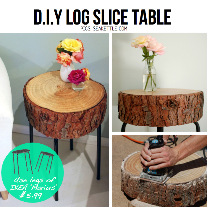 unconventional diy end tables that will