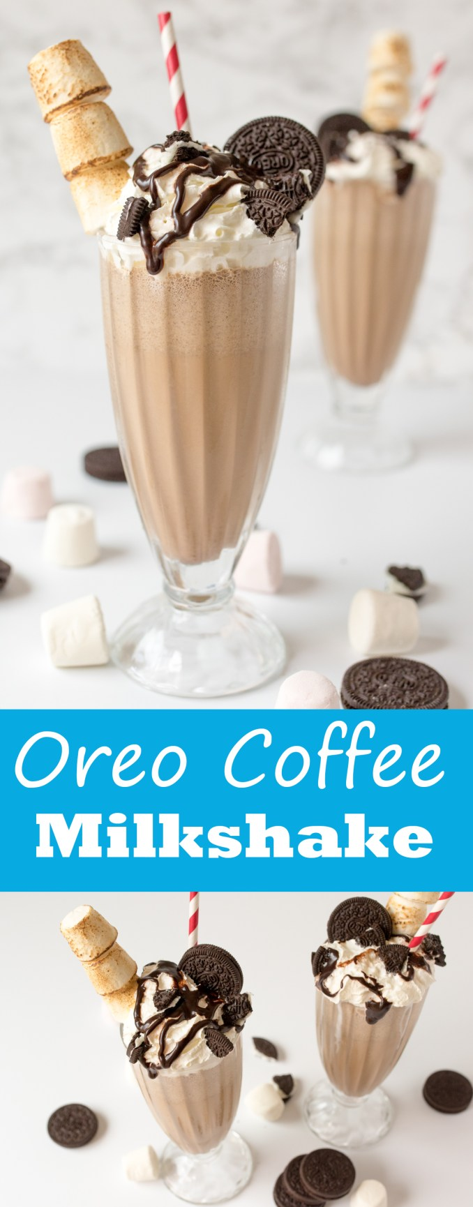 Oreo Coffee Milkshake