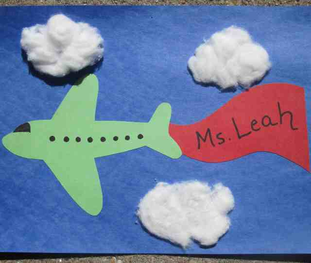 Airplane Themed Kids Crafts
