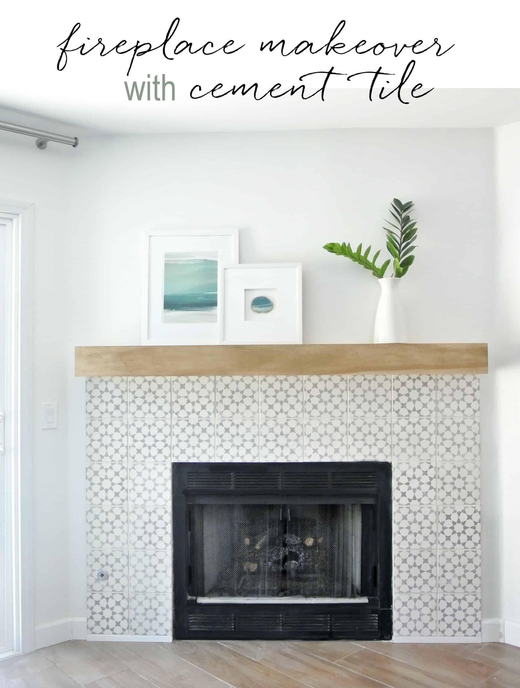 beautiful ideas to fireplace tiling