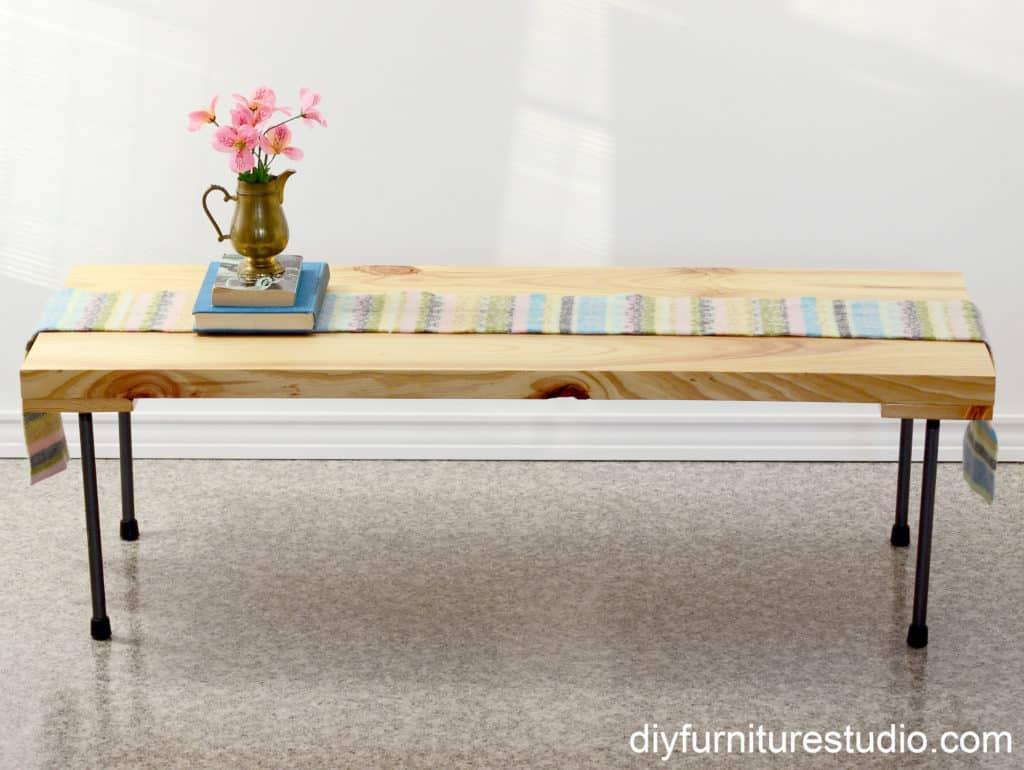 contemporary diy coffee tables