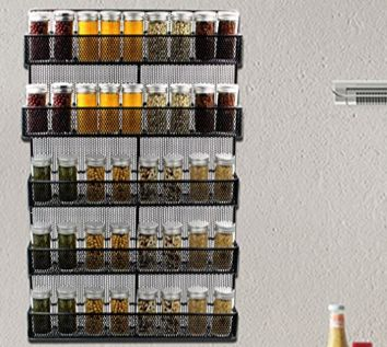 best spice rack for organized kitchens