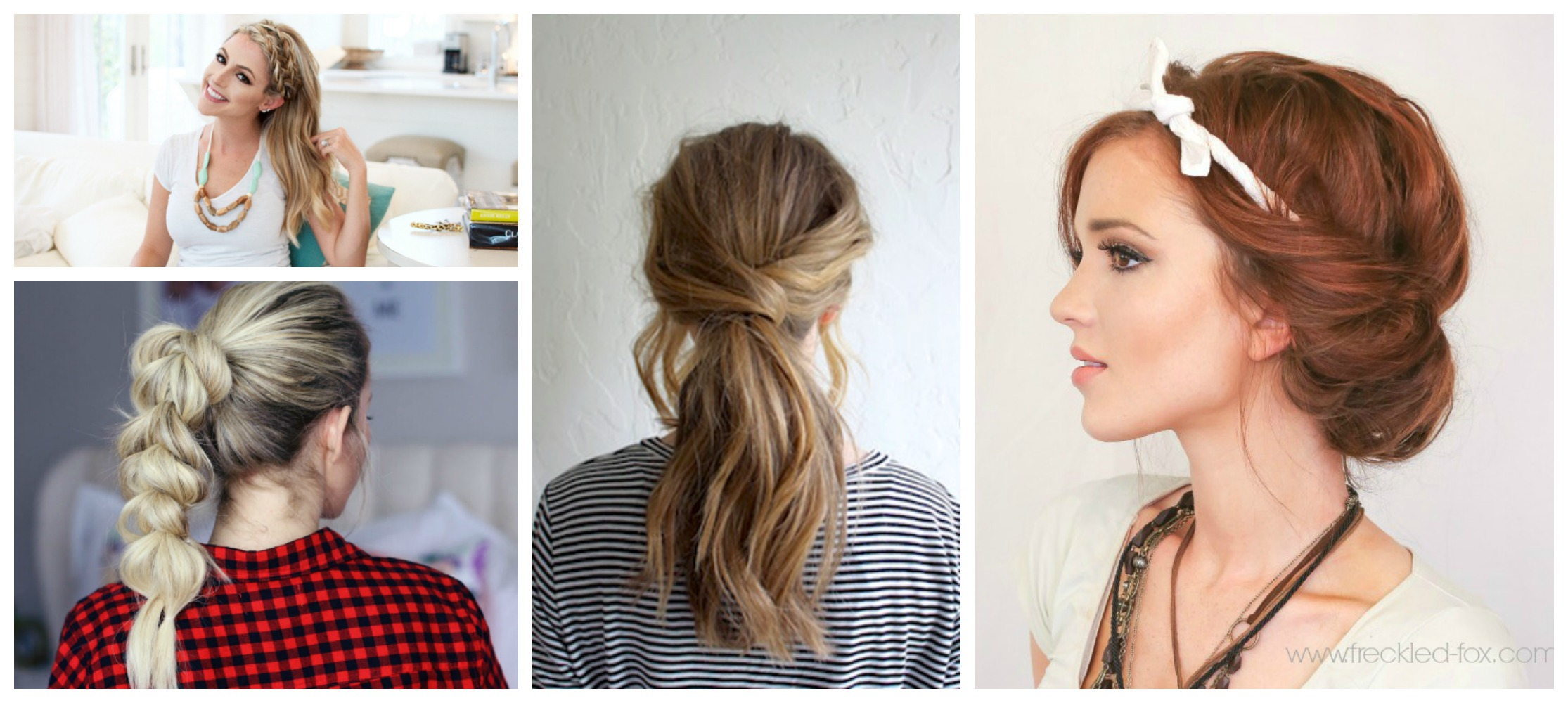 8 Quick & Easy Hairstyles That Make Dirty Hair Look Fab diy Thought