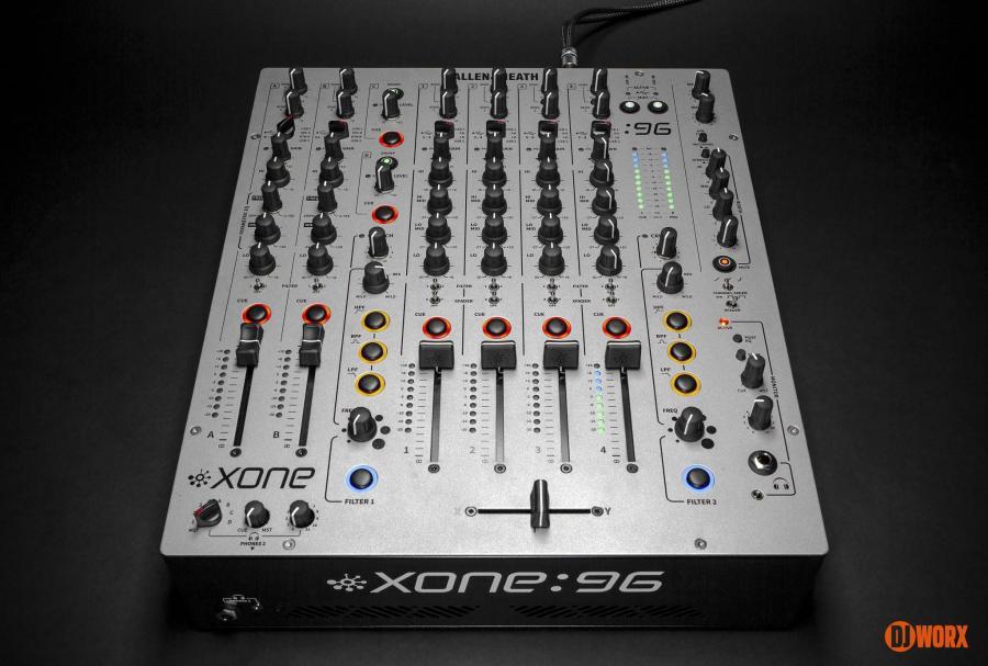 Allen & Heath Xone:96 mixer review first look preview (6)