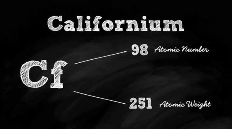 الكاليفورنيوم