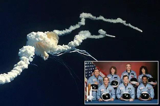 """رواد السفينة الفضائية """"Challenger"""""""
