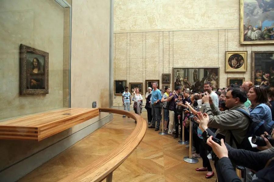 متحف اللوفر الموناليزا