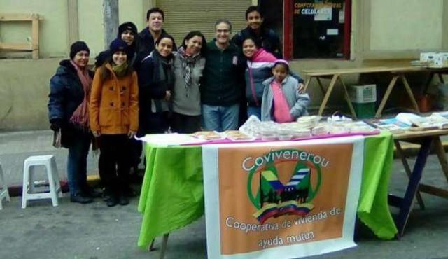 Una cooperativa de venezolanos en Uruguay va tras el sueño de la casa propia