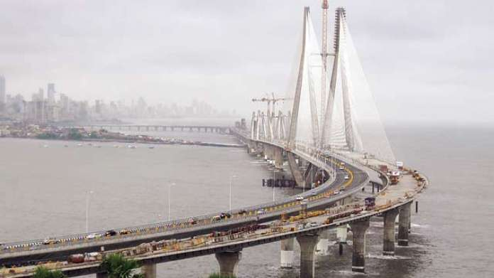 Image result for bandra worli sea link