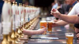 While the UK is easing restrictions on COVID-19, people are swallowing 2.8 million liters of beer a day