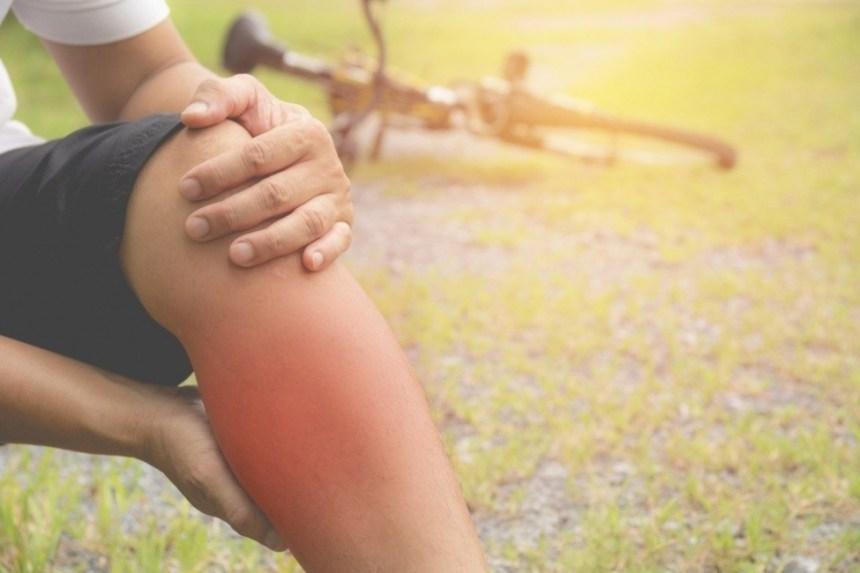 bicicletta di crampo