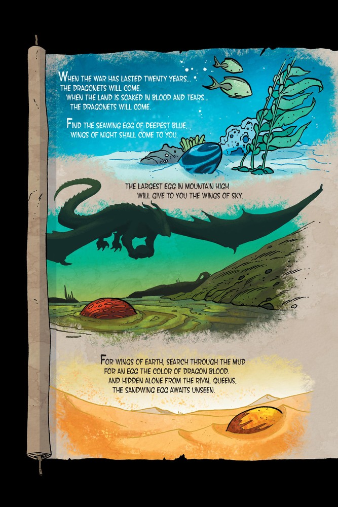 dragonet prophecy wings of fire book