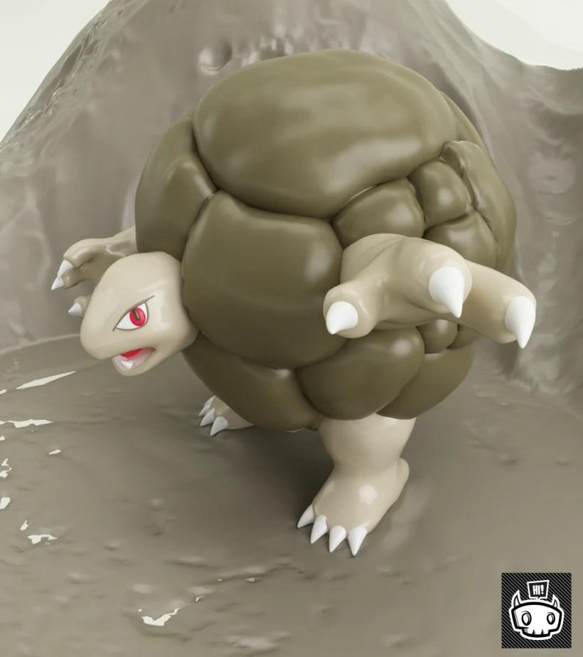 Pokemon Golem 76 Domestika