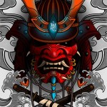 New Samurai Mask Domestika