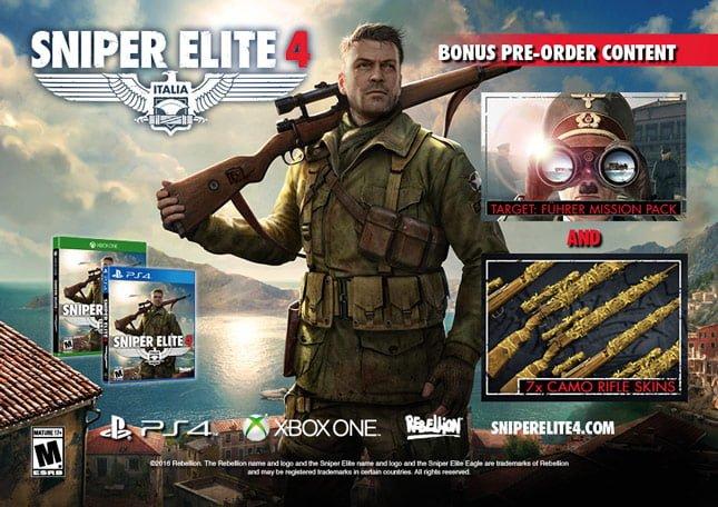 sniper elite 4 inceleme