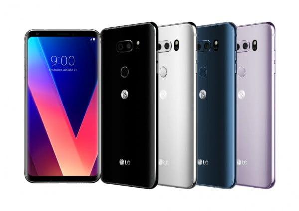 LG V30'un Yeni Renkleri Ortaya Çıktı