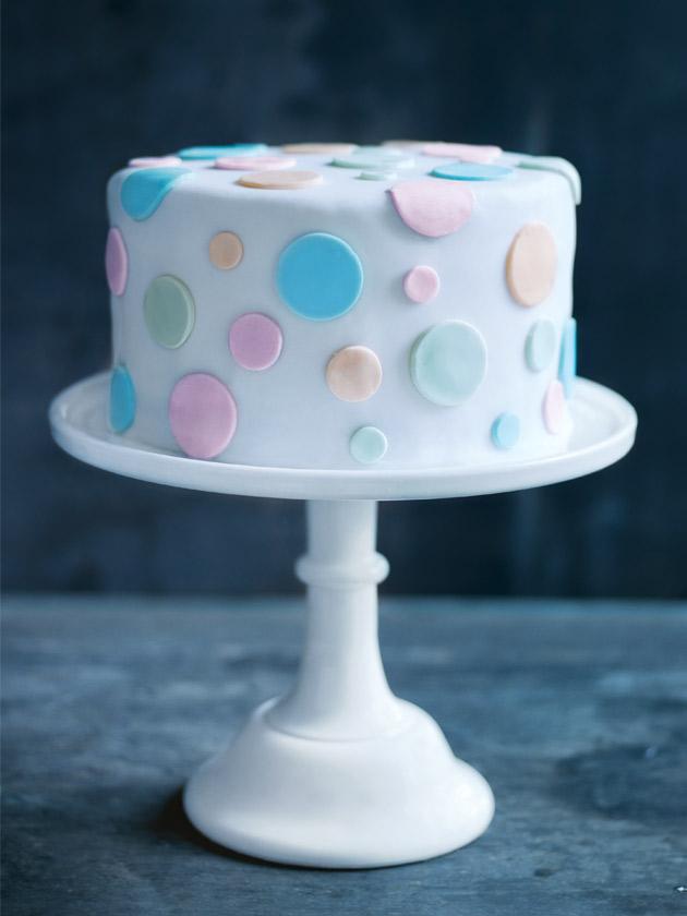 Vanilla Polka Dot Cake Donna Hay