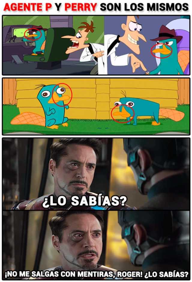 Dopl3r Com Memes Agentep Y Perry Son Los Mismos 2 Elo Sabias
