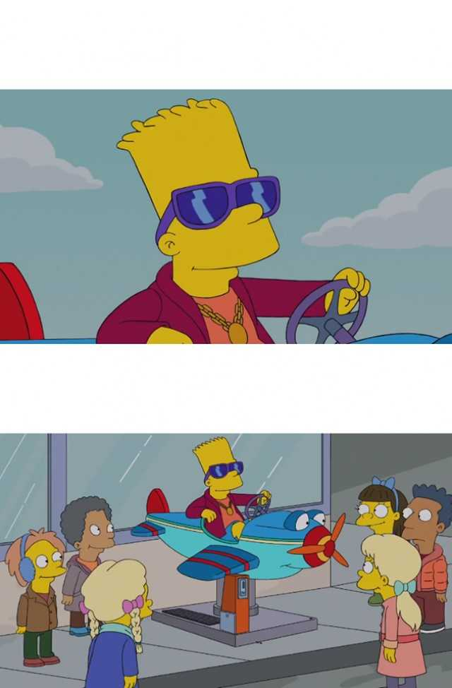 Bart Simpson Memes Posts Facebook
