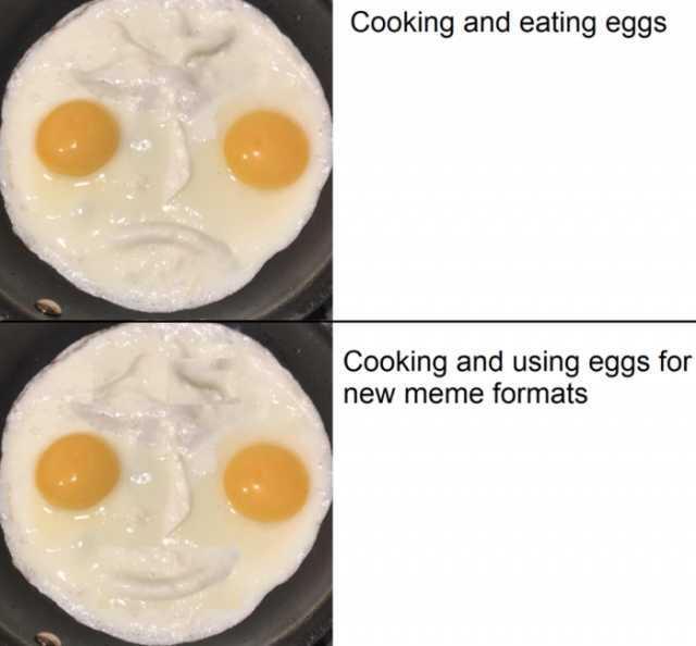 Ruin The Meme By Explaining It Long Egg