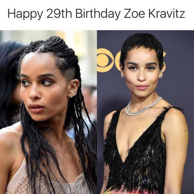 Dopl3r Com Memes Happy 29th Birthday Zoe Kravitz