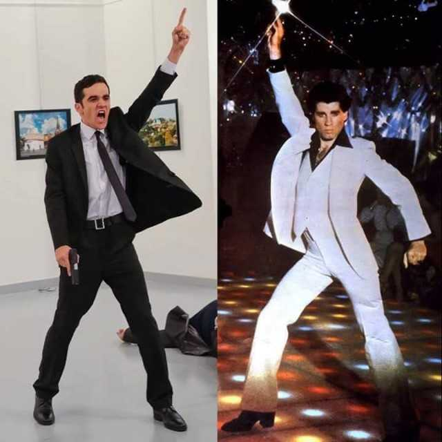 Dopl3r Com Memes John Travolta With The Ambassador Murderer