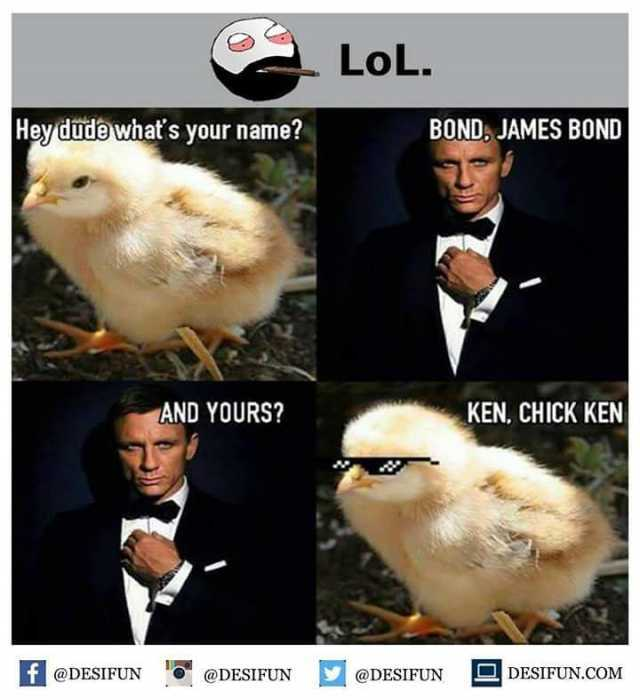 Dopl3r Com Memes Lol Hevdudewhats Vour Name Bonda James Bond