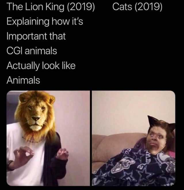 Thanks I Hate The New Cats Movie Cats Meme On Me Me