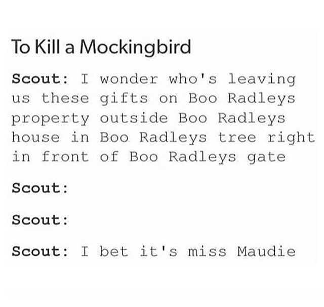 Dopl3r Com Memes To Kill A Mockingbird Scout工wonder Whos