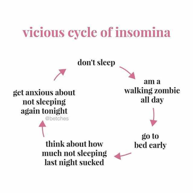 Dopl3r Com Memes Vicious Cycle Of Insomina Dont Sleep Am A