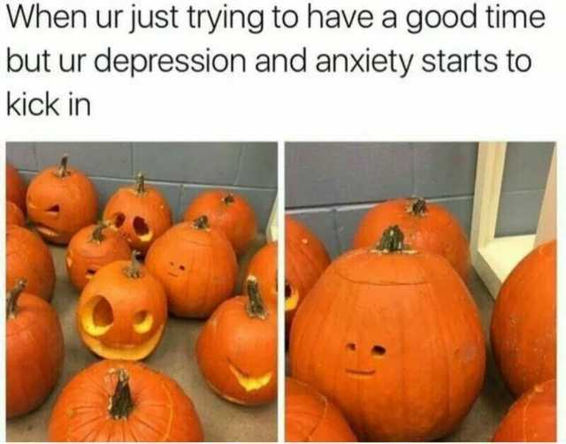 Image result for anxiety pumpkin