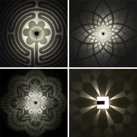 pattern light fixture design