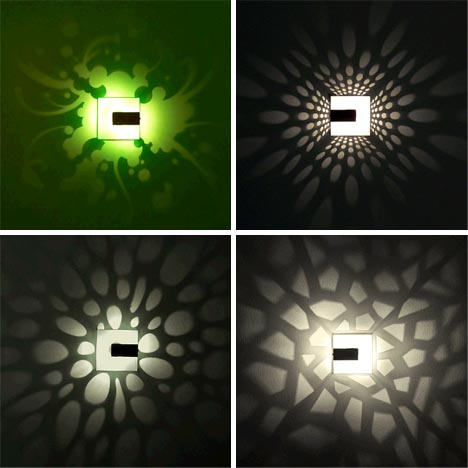 pattern wall lamp designs