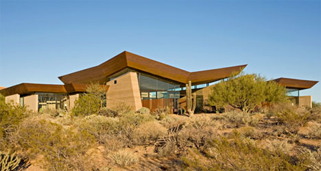 rammed earth home design