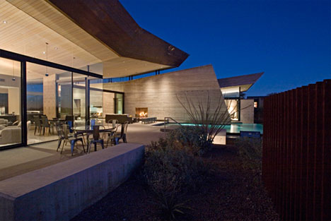 rammed earth house construction