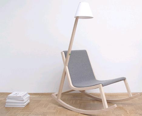 Rocking chair electricity