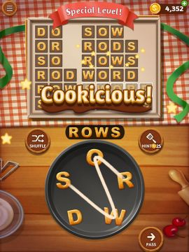 Word Cookies   Download and Play Free On iOS and Android Word Cookies   Screen 1 Word Cookies   Screen 2