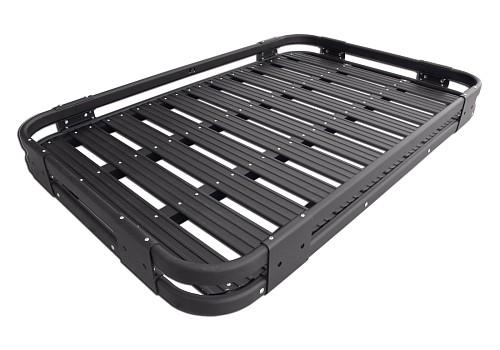 2 door aluminium roof rack basket gutter mount a alloy