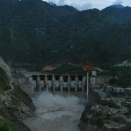 The Supreme Court order, while raising concern over most other hydel projects, paved the way for enhancing the capacity of the Srinagar hydroelectric project undertaken by the Alaknanda Hydro Power Company Limited, a subsidiary of infrastructure major GVK (Photo: Soumik Mukherjee)