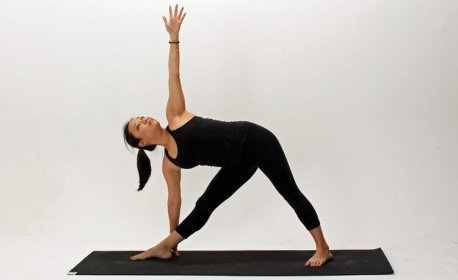 Image result for Triangle pose