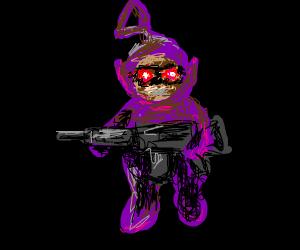 Rowlet With A Gun Drawception