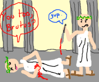 Myths About The Romans , Caesar Comic